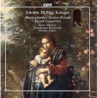 Krieger / Mertens - Sacred Concertos [CD] USA import