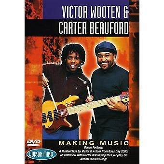 Victor Wooten - Carter B-Making Music [DVD] USA import