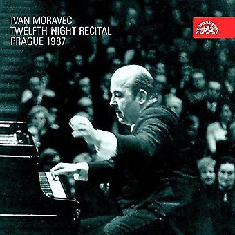 Ivan Moravec - Twelfth Night Recital – Music by Bach Mozart Beethoven Chopin Debussy [CD] USA import