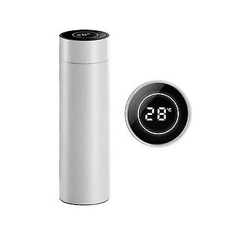 Soga 500Ml Stainlessteel Smart Lcd Thermometer Display Flask