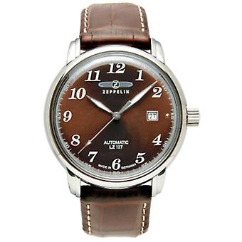 Count Automatic Analog Ousmen Watch with Cowhide Bracelet 7656-3