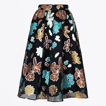 Stine Goya - Laila Organza Skirt - Flower Garden Autumn
