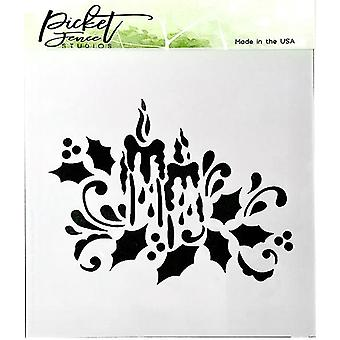Picket Fence Studios Candlelight Stencil