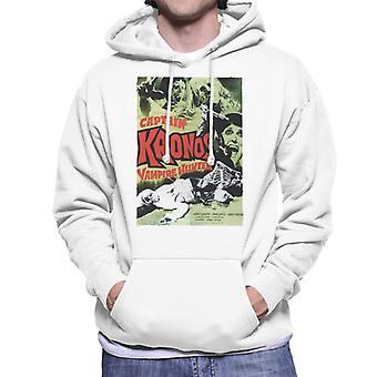 Hammer Horror films Captain Kronos klassieke poster mannen ' s Hooded Sweatshirt