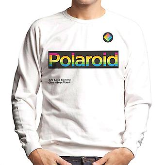 Polaroid Logo 320 Land Camera Uomo's Felpa