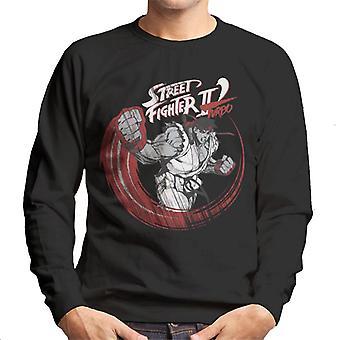 Street Fighter II Turbo Ryu Sketch Men's Sweatshirt