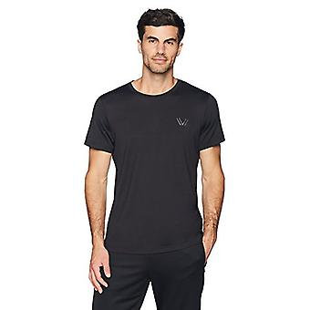 Peak Velocity Men's Aeros Performance Short Sleeve Quick-dry Athletic-Fit T-S...