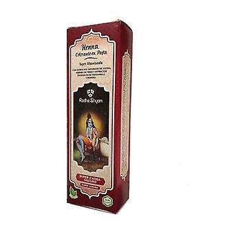 Henna Super Mahogany Dark Pasta 200 ml