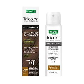 Tricolor Light Brown Touch Up Spray 75 ml