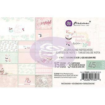 بريما التسويق سانتا بيبي 4x6 بطاقات اليومية