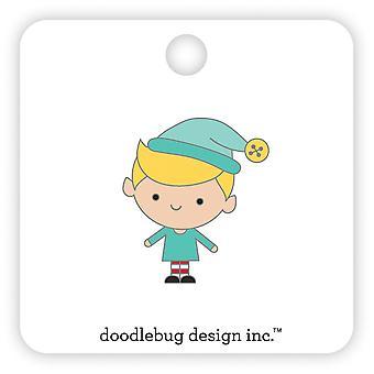 Doodlebug Design Buddy Collectionnable Pin