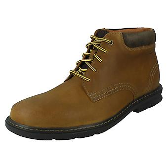 Mens Clarks Casual Lace Up Boots Rendell Work