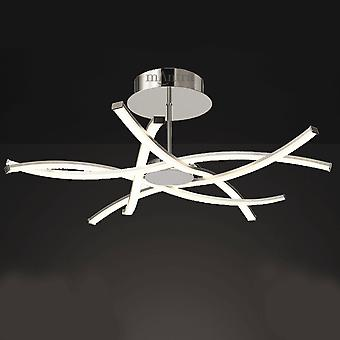 Mantra Aire Large LED Dimmable Semi Flush Ceiling Light