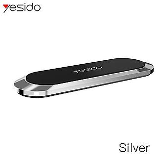 Yesido mini magnetyczny uchwyt na telefon samochodowy na desce rozdzielczej 4,0-6,5 cala do iPhone'a 11 dla Samsung Galaxy Note 10 Xiaomi Redmi Note 8 Pro