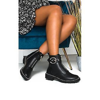 IKRUSH النساء أنجيليكا الرمز البريدي حتى أحذية الكاحل