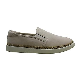Vionic Womens Sunny Rae Canvas Ivory Shoes 7.5 US
