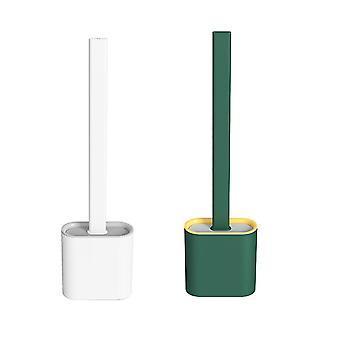 Silikon Toilettenreinigungsbürste - Badezimmerreiniger für Privathaushalte
