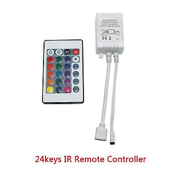 Led Strip 12v  Ir Remote Wirlesss Controller For Smd2835-24 Key (24key)