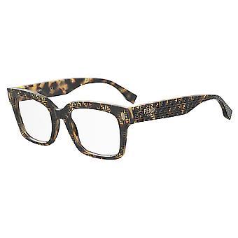 Fendi FF0444 2VM Havana Pattern Glasses