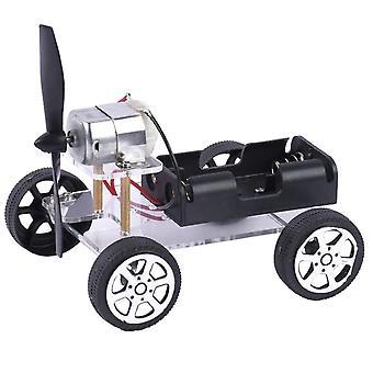 Mini Brinquedo Educacional de Motor de Escova de Vento - Kits de Robôs de Carro Diy