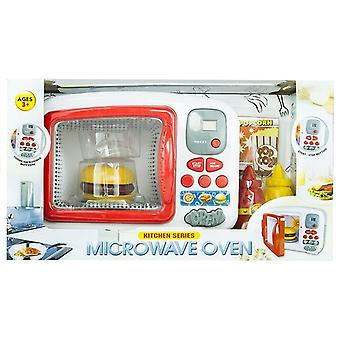 Microwave Kids Toy Light & Music Role Play
