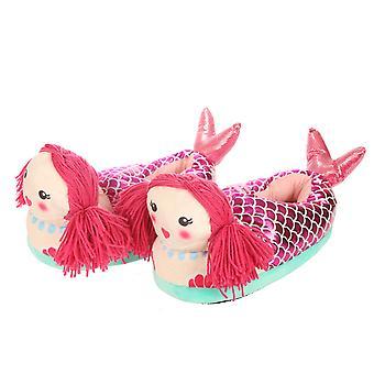 Mermaid Pair of Unisex Slippers X 1 Pack
