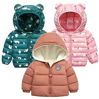 Autumn, Winter Jackets For, Warm Outerwear For Newborn Baby