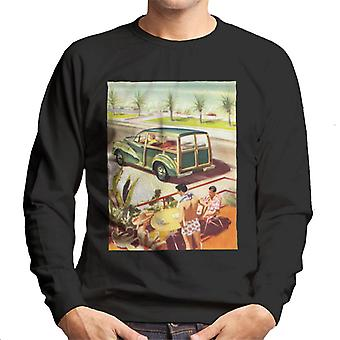 Morris Traveller Summer British Motor Heritage Men's Sweatshirt