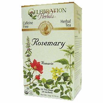 Celebration Herbals Organic Rosemary Leaf Tea, 24 Bags