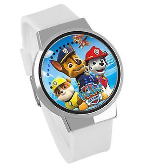 Nepremokavé svetelné LED digitálne dotykové detské hodinky - PAW Patrol #10