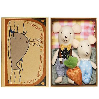 Cute Plush Mouse Family Climb Toy-'s Classic Track