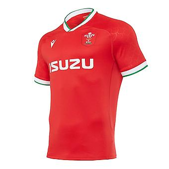2020-2021 Wales Home Poly Replica Rugby paita