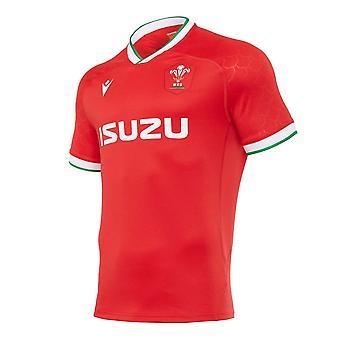 2020-2021 Pays de Galles Home Poly Replica Rugby Shirt