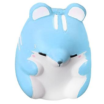 9cm Hamster Shaped, Slow Rising Stress Relieve