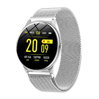Lige 2020 Fashion Sports Smartwatch Fitness Sport Activity Tracker Smartphone Watch iOS Android - Silver