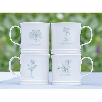 Mary Berry Garden Mug Honeysuckle 300ml MBGFBMUGHS