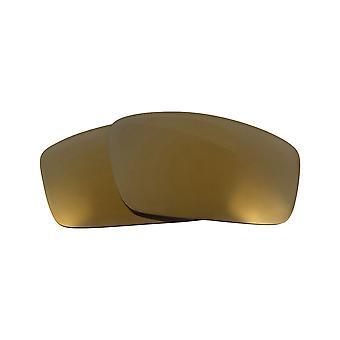عدسات استبدال ل Oakley ساحة الأسلاك 2006 النظارات الشمسية المضادة للخدش الذهب