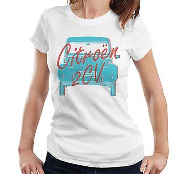 Citroen 2CV Graphic Style Naisten t-paita
