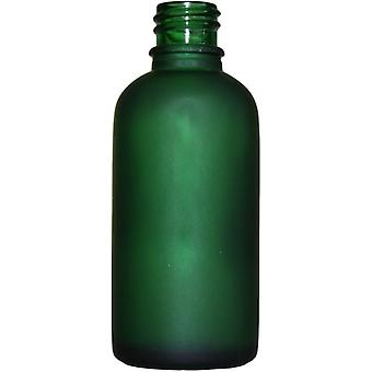 50ml Frosted Green Bottles