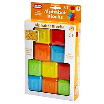 Fun Time Alphabet Blocks Lower Case Letters