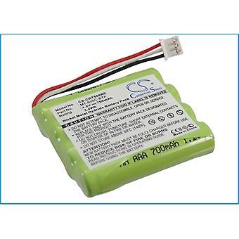 Távirányító akkumulátor Crestron MT-500C-BTP MT-500C MT-500C-RF TSU6010 Ni-MH