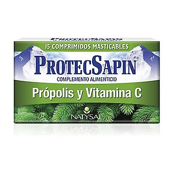 Protecsapin 250 mg 15 chewable cubes