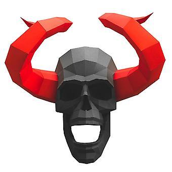 Horned Skull Wall Art