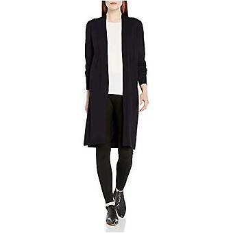 العلامة التجارية - Lark & Ro Women's Premium Viscose Blend خفيف الوزن طويل Sleev...