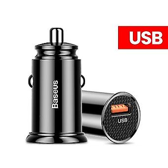 Baseus Usb Car Charger Quick Charge Fast Car For Iphone Xiaomi Mobile Phone