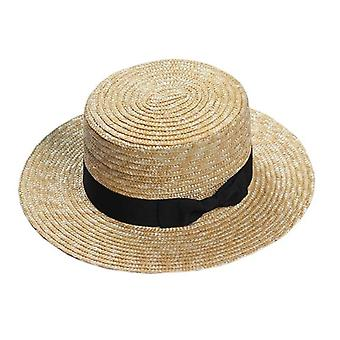 Wide Side Female Casual Panama Hat
