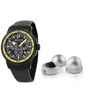 Momo design watch pilot pro chrono quarzo md2164bk-50