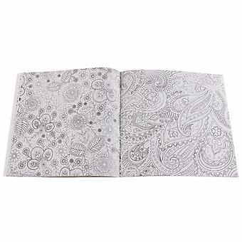 12pages Mandalas Flower Coloring Book