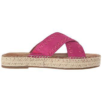 Aerosoles Womens Rose Fabric Open Toe Casual Slide Sandals