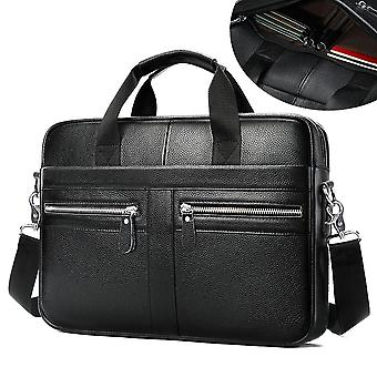 Genuine Leather Briefcase For Laptop